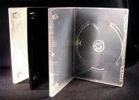 DVD Case with glossy interior